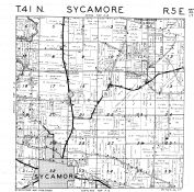 Sycamore Township, DeKalb County 1947